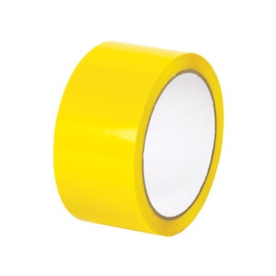Taśma pakowa akrylowa - żółta