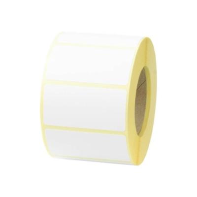 Etykiety termiczne białe 50X25/1000