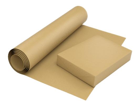 papier pakowy szary
